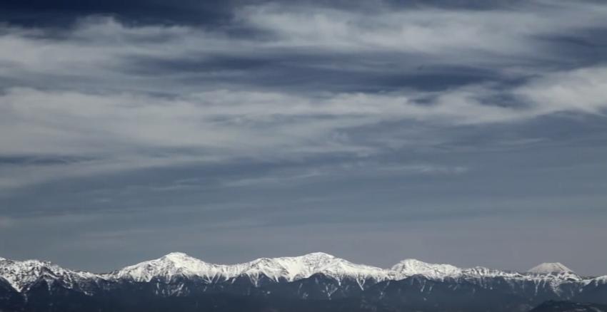 木曽駒ヶ岳千畳敷から眺める南アルプスと富士山 赤石山脈