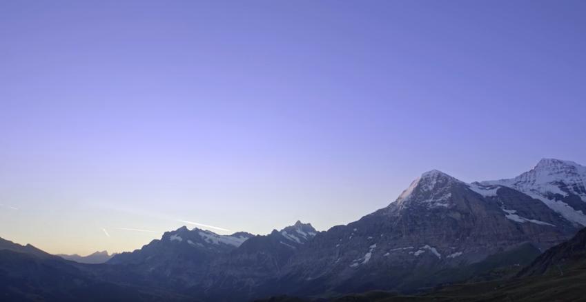 Jungfraujoch α7RⅡ 4K(A7R2)ユングフラウヨッホ