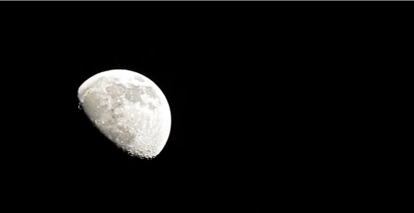 Canon 5D mark Ⅱ EF 100-400mm test moon1